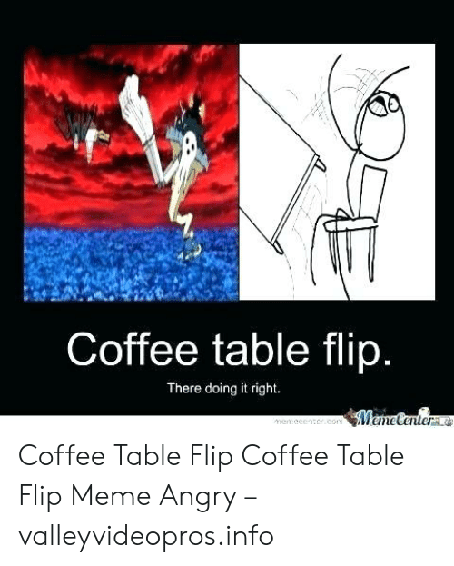 coffee table flip there
