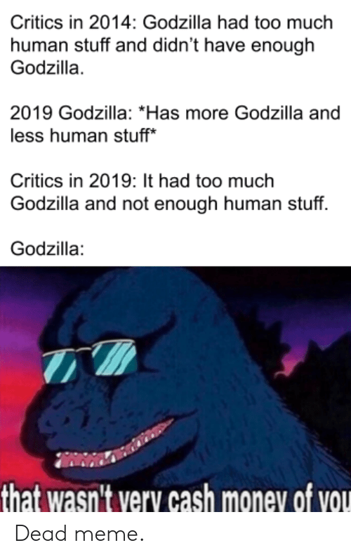 That Wasn't Very Cash Money Of You Godzilla : wasn't, money, godzilla, Download, Money, Godzilla