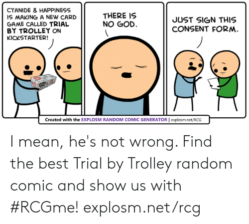 cyanide happiness is making