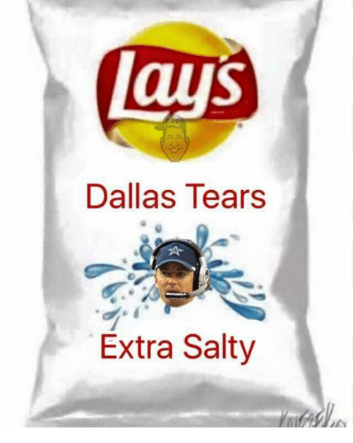dallas tears extra salty