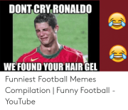 dont cry ronald0 wefound hair