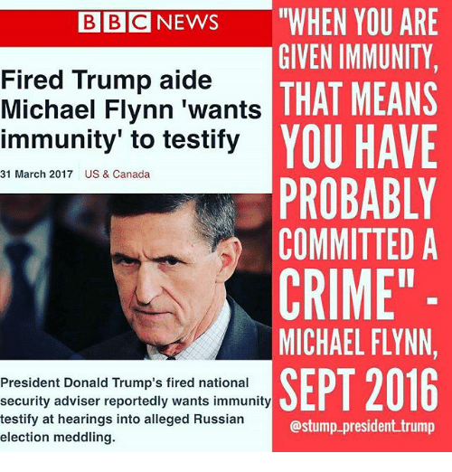 Image result for immunity is a crime
