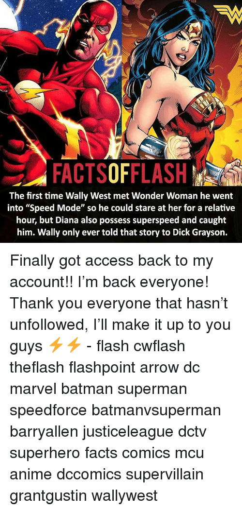factsofflash the first time