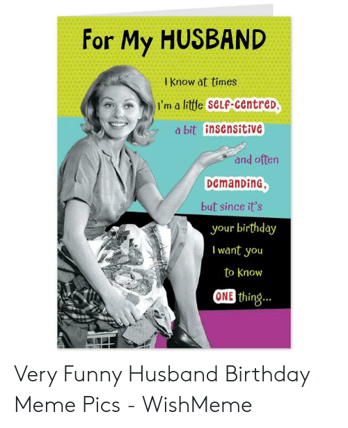 25+ Best Memes About Happy Birthday Meme for Husband