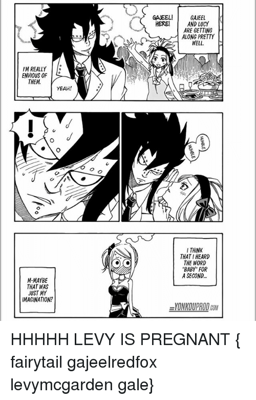 gajeel and levy pregnant