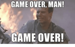 Image result for game over man