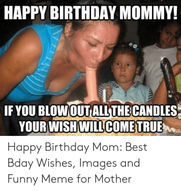 Download Meme Happy Birthday Mom Funny | PNG & GIF BASE