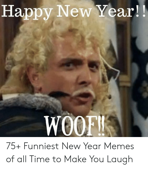 Happy New Year Woof 75 Funniest New Year Memes Of All Time To Make You Laugh Meme On Me Me