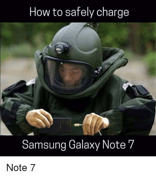 how to safely charge