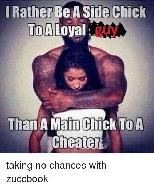 girlfriends need to know about side chicks