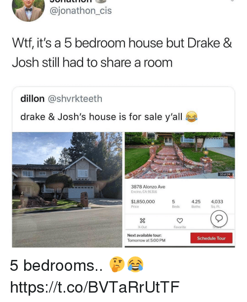 Drake And Josh House For Sale : drake, house, Bedroom, House, Drake, Still, Share, Dillon, Josh's, Y'all, Alonzo, Encino