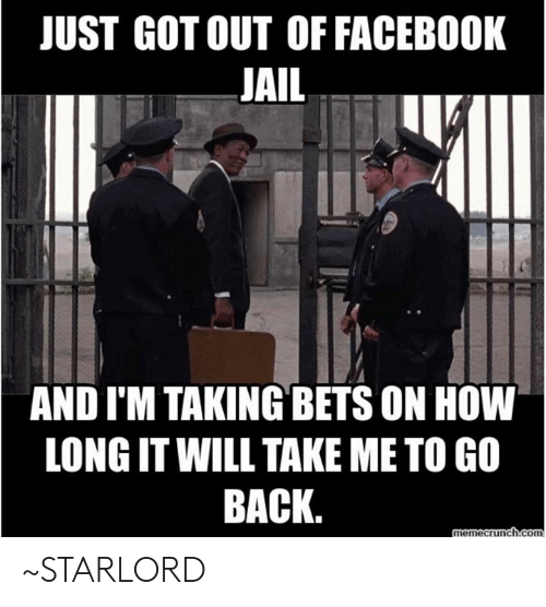 Back Meme Facebook Jail