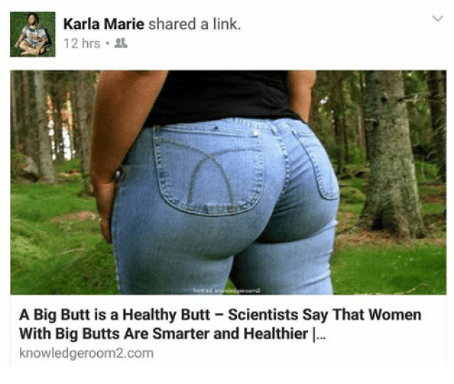 Butt Memes And Link Karla Marie Shared A Link 12 Hrs