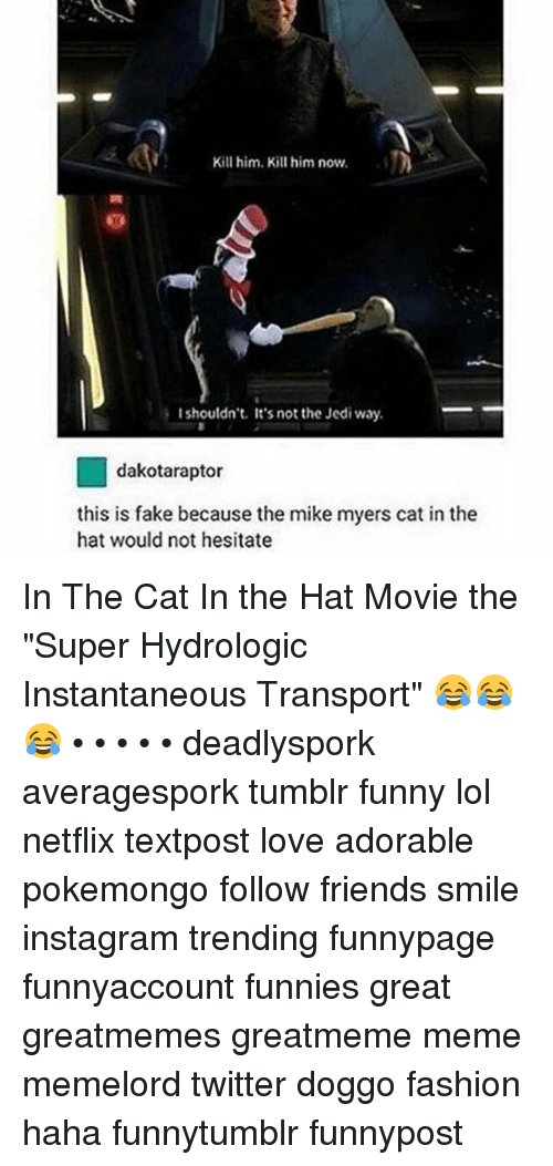 Mike Hat Myers Meme Cat