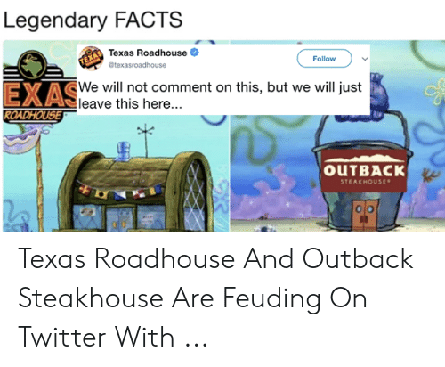 legendary facts texas roadhouse