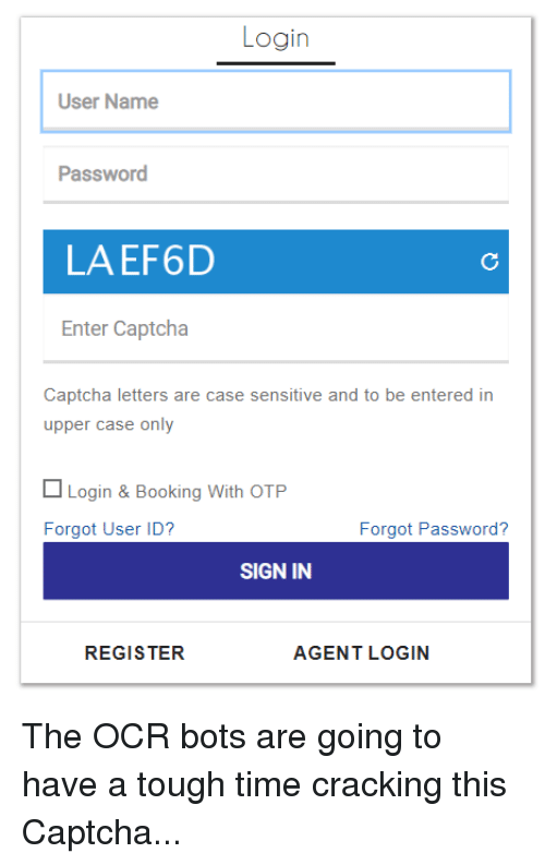 login user name password