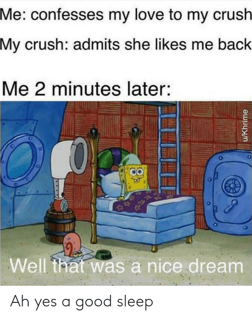 2 Minutes Later Spongebob : minutes, later, spongebob, Confesses, Crush, Admits, Likes, Minutes, Later, Dream, UKhrime, Sleep