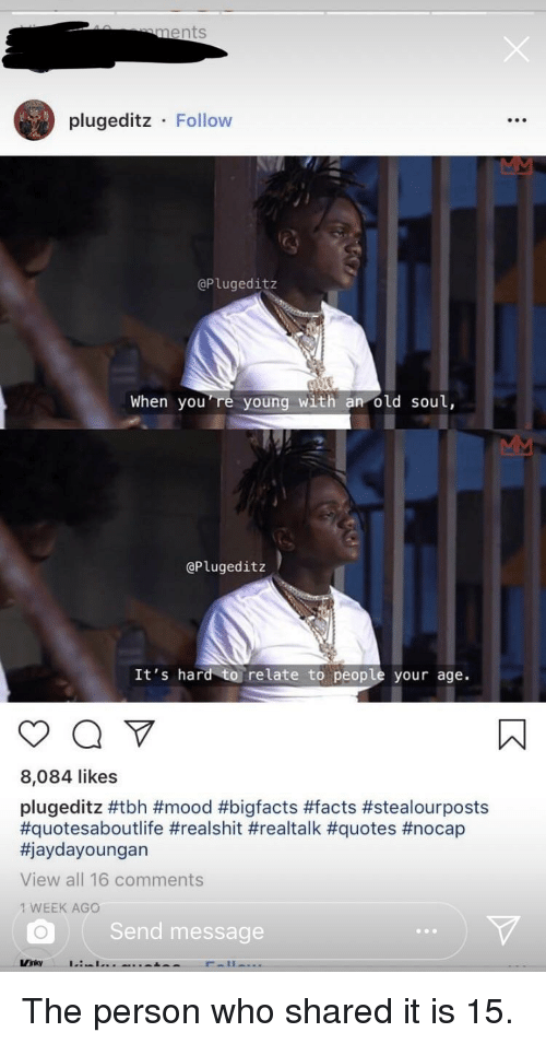 Jaydayoungan Quotes : jaydayoungan, quotes, Ments, Plugeditz, Follow, You're, Young, GPlugeditz, Relate, People, Likes, #Mood, #Bigfacts, #Facts, #Stealourposts, #Quotesaboutlife, #Realshit, #Realtalk, #Quotes, #Nocap