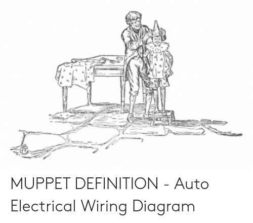 muppet definition  auto electrical wiring diagram