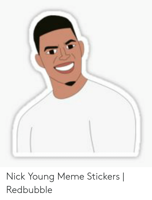 Confused Nick Young Png : confused, young, Young, Stickers, Redbubble, ME.ME