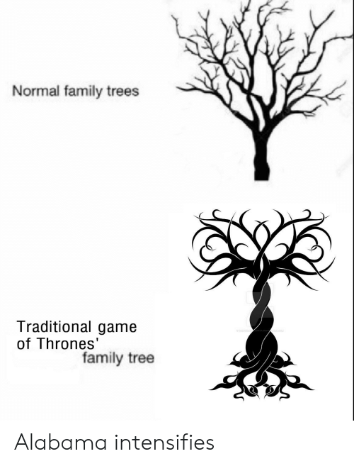normal family trees traditional