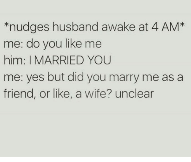 Husband Wife And Humans Of Tumblr Nudges Husband Awake At 4 Am
