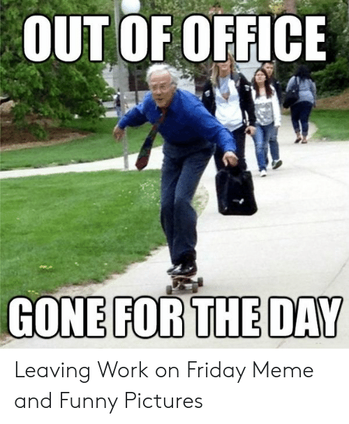 Out Of Office Meme : office, Funny, Office