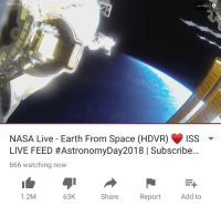 PATREON NASA Live-Earth From Space HDVR Iss LIVE FEED # ...