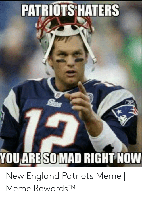 Patriots Hater Memes : patriots, hater, memes, Patriots, Haters, England, Memes