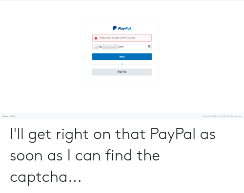 paypal a please enter