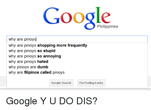 philippines why are pinoys
