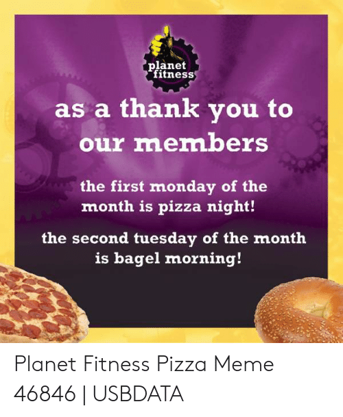 The Real Story Behind Planet Fitness Pizza Monday | Planet
