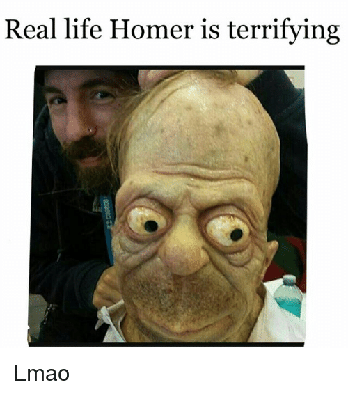 real life homer is