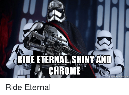 ride eternal shiny and