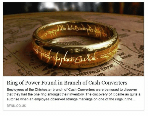 ring of power found