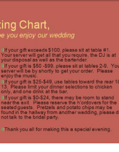 Funny charts and server seating chart we hope you enjoy our wedding also if your  exceeds rh me