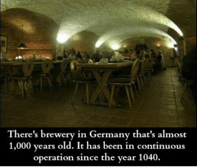 Facts Memes And Germany Some Amazing Facts Theres Brewery In Germany Thats Almost