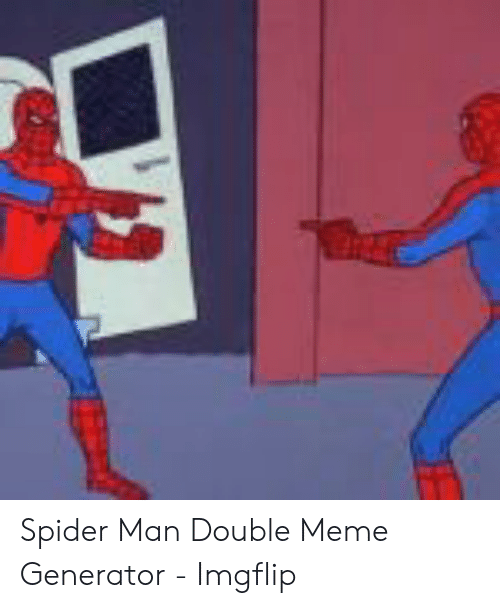 Two Spiderman Meme : spiderman, Spiderman, Template