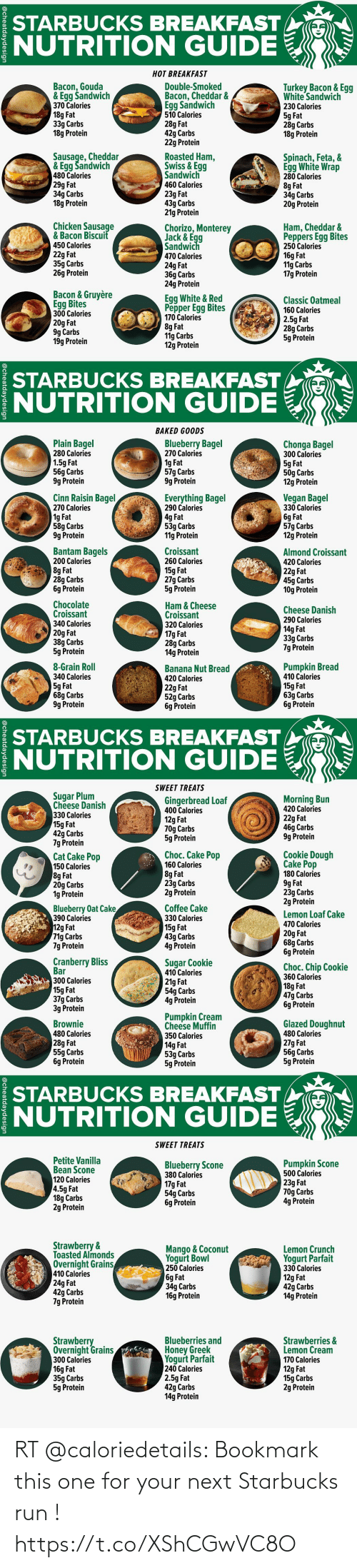 Starbucks Sausage Egg And Cheese Calories : starbucks, sausage, cheese, calories, STARBUCKS, BREAKFAST, NUTRITION, GUIDE, Bacon, Gouda, Šandwich, Calories, Carbs, Protein, Double-Smoked, Cheddar, Sandwich, Turkey, White
