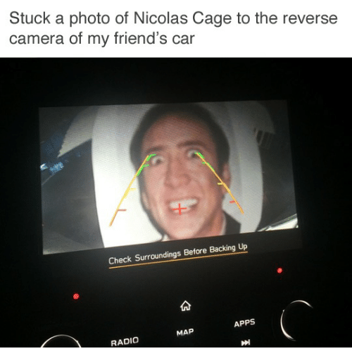 Falling In Reverse Wallpaper Apps Stuck A Photo Of Nicolas Cage To The Reverse Camera Of My