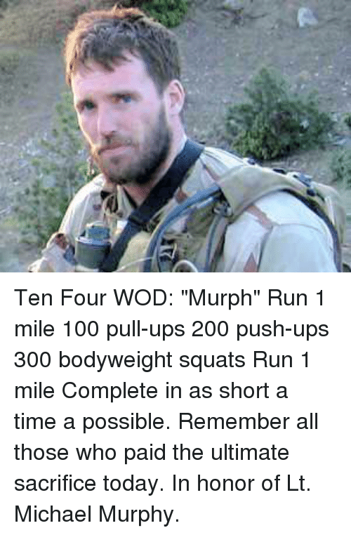 ten four wod murph