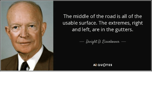 Image result for middle of the road memes