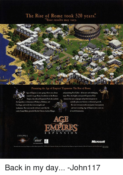 Age Of Empires: The Rise Of Rome : empires:, Years, Results, Presenting, Empires, Expansion, Enpines, Going, Wbene, Always, Paching