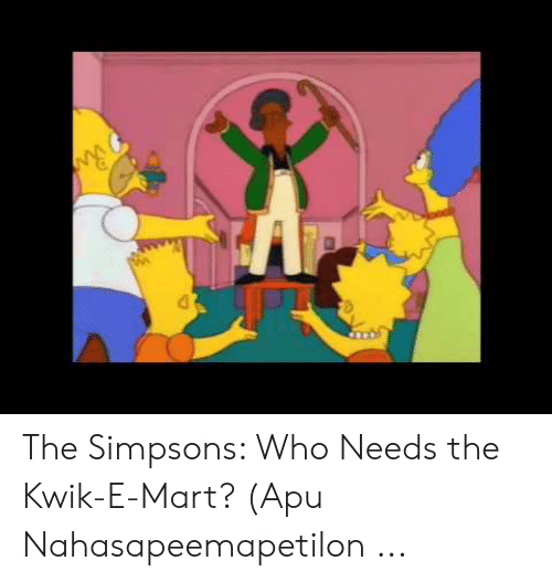 the simpsons who needs