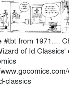 Facebook memes and tbt the wizard of id wizardofd also facebookcomwizardofd  think need glasses rh me