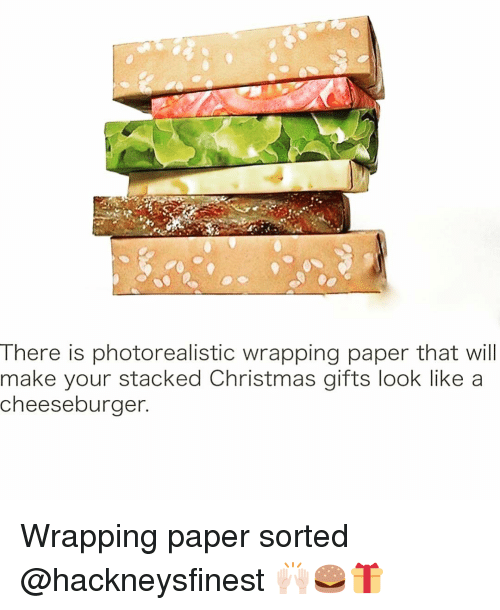 there is photorealistic wrapping