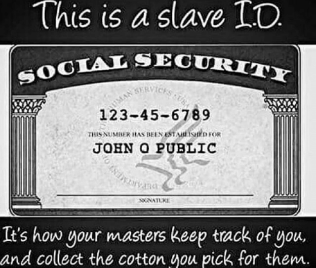 Memes Masters And  F0 9f A4 96 This Is A Slave To Social Security 123