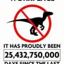 This Is A Velociraptor Free Workplace It Has Proudly Been