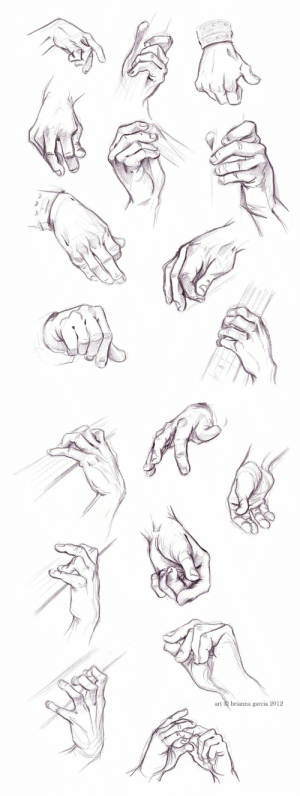 Hands Holding Something Drawing : hands, holding, something, drawing, Hands, Holding, Something, Howto, Techno
