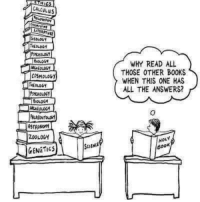 ASTRONOM ZOOLOGH GENETICS WHY READ ALL THOSE OTHER BOOKS
